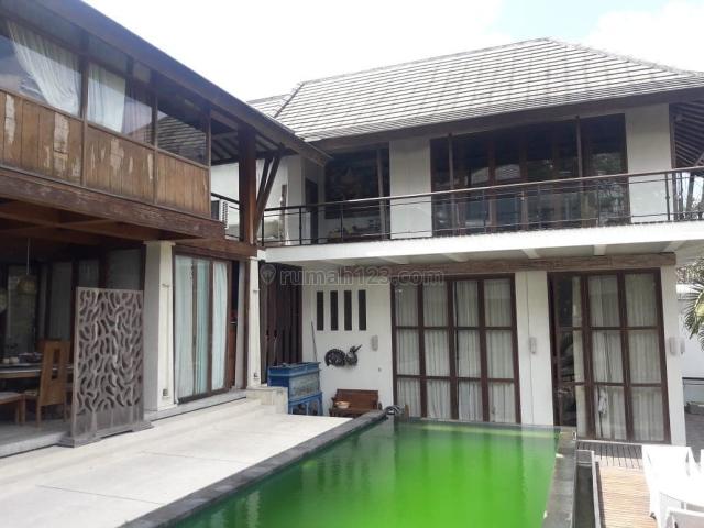 TANAH CANGGU JL PANTAI BERAWA SANGAT KOMERSIL, 800m2 BONUS BANGUNAN VILLA, Canggu, Badung