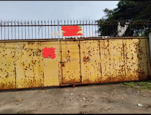 tanah kosong cocok untuk pool alat berat dan containers, Kapuk Kamal, Jakarta Barat