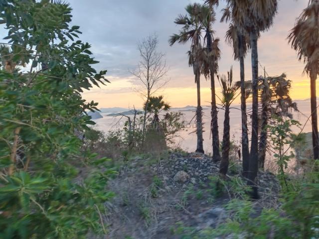 Tanah di waecicu, super sunset, ocean view pinggir jalan raya aspal, sangat bagus., Labuan Bajo, Manggarai Barat