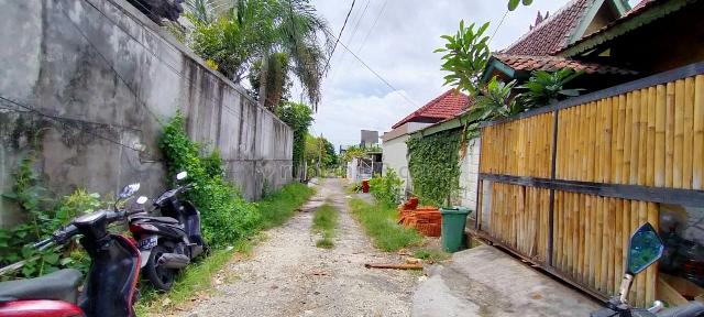 Tanah murah lingkungan villa, Canggu, Badung