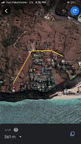 tanah di pantai pandawa, Bukit, Badung