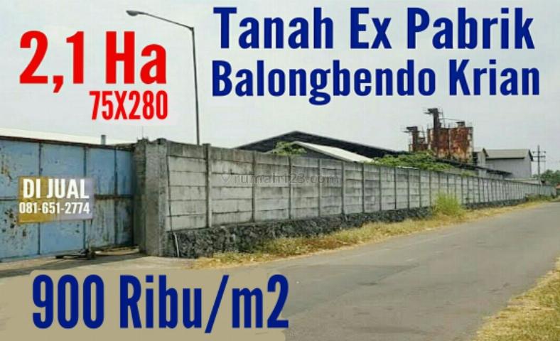 Tanah Balongbendo Krian, Balongbendo, Sidoarjo