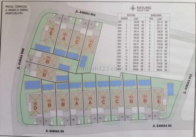 Bangka - Jual proyek development dalam kawasan elit Bangka, kavling bisa bangun sendiri, Bangka, Jakarta Selatan
