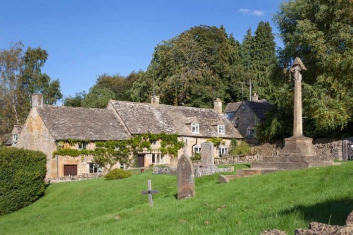 Cotswold village of Snowshill, Worcestershire, England