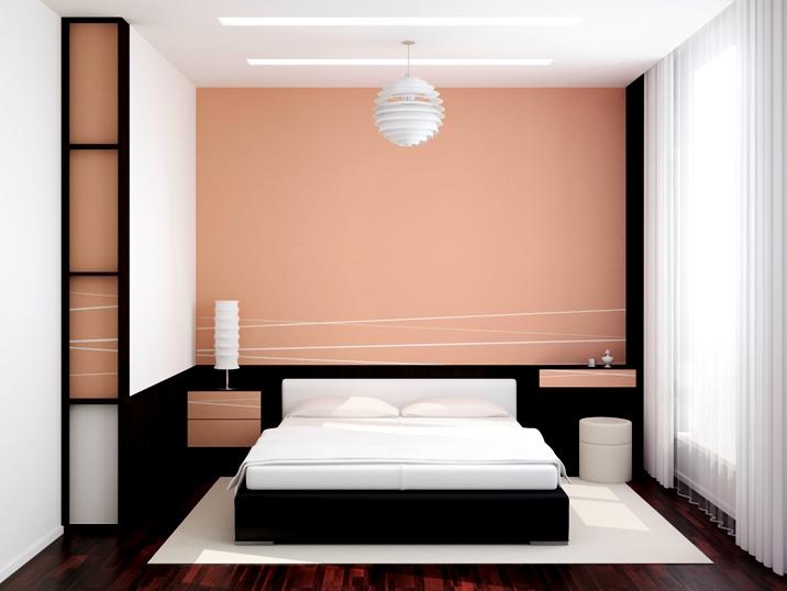 menyiasati kamar tidur yang kecil agar terlihat besar