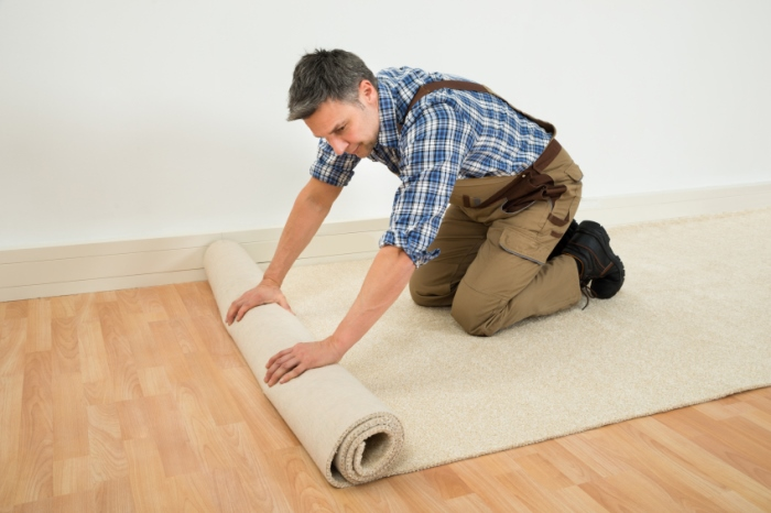 pasang karpet