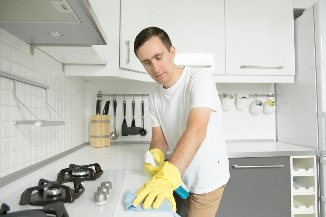 cara membersihkan kompor