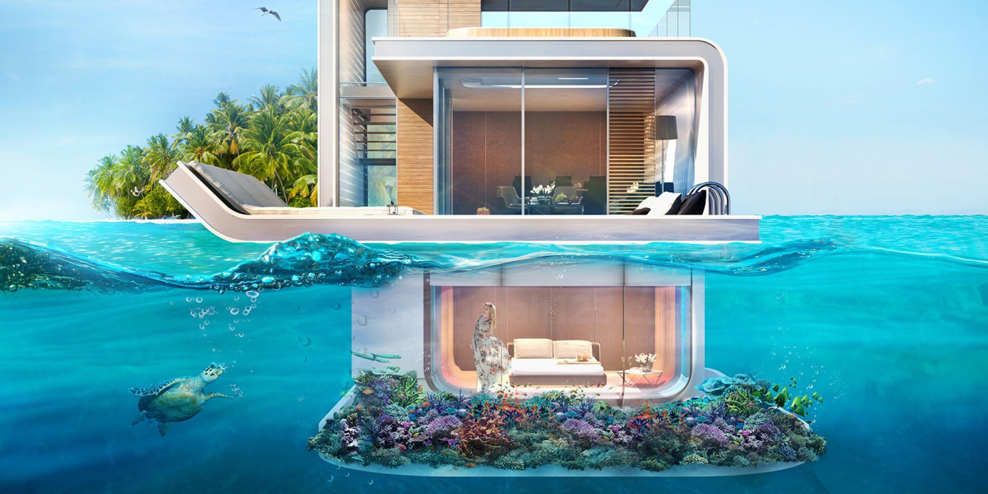 дом в океане цены с фото