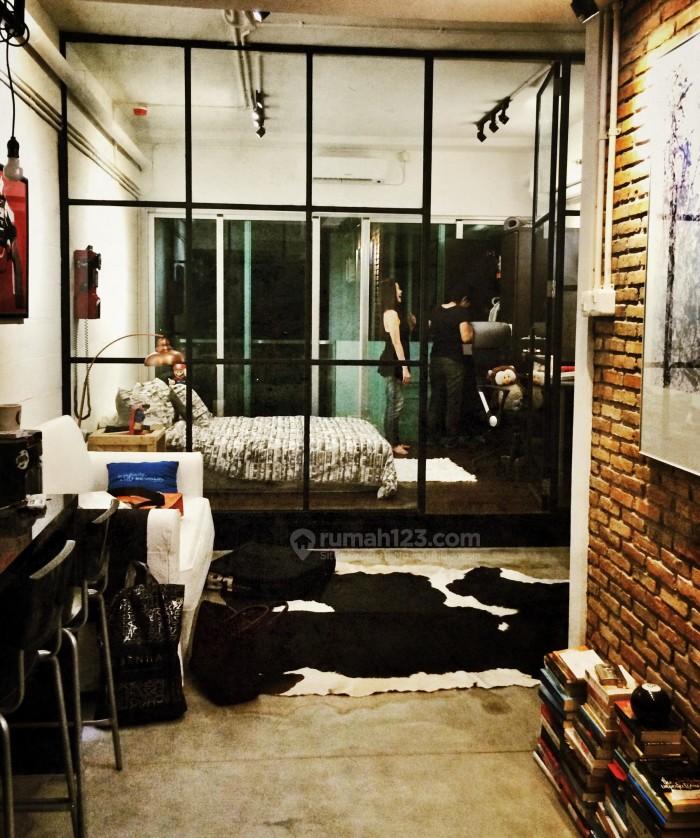 apartemen gaya industrial 1