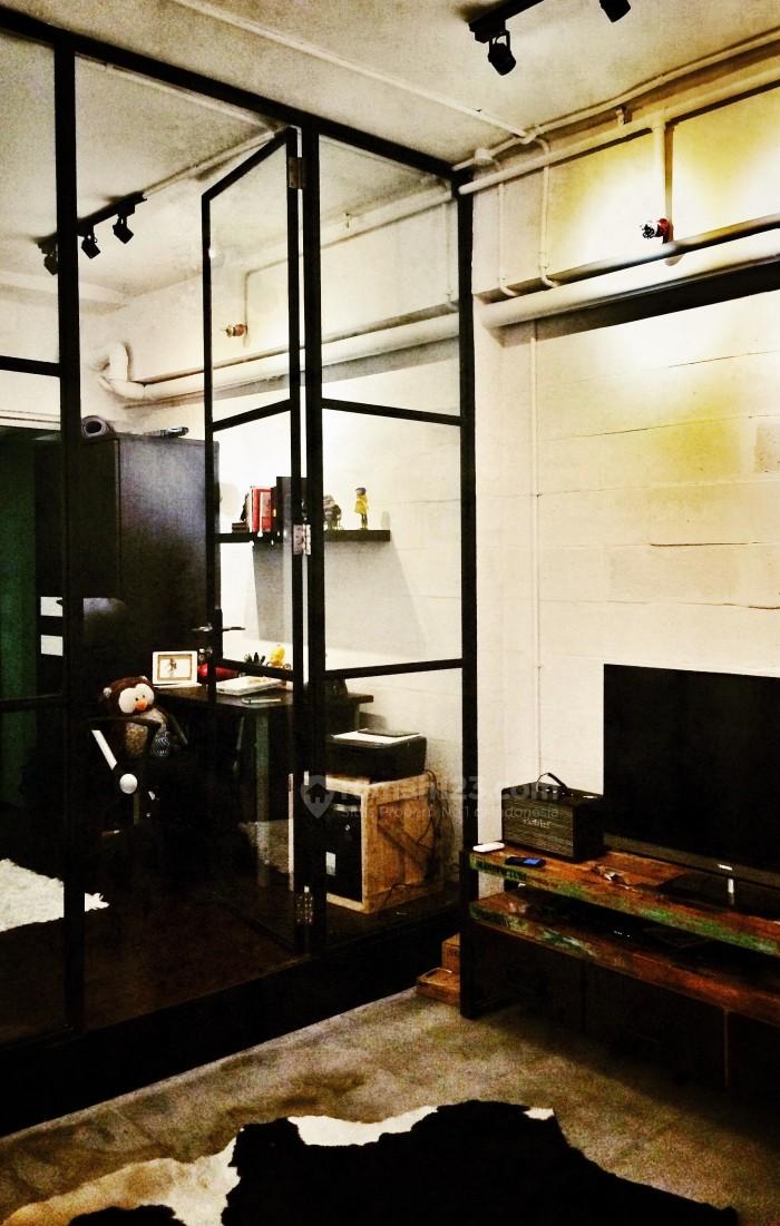 apartemen bergaya industrial 2