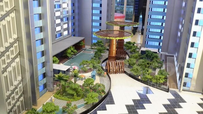Maket Wismaya Residence. (Foto: IST)