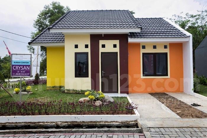 Salah satu rumah contoh di Permata Mutiara Maja, Lebak Banten. Foto: Rumah123/Jhony Hutapea.