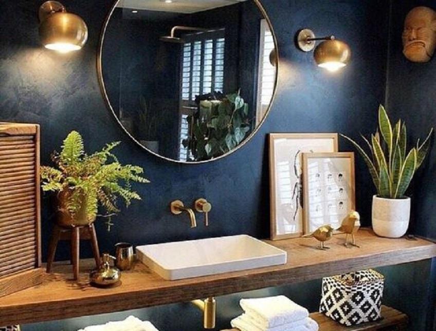 cara menghilangkan jamur kaca kamar mandi