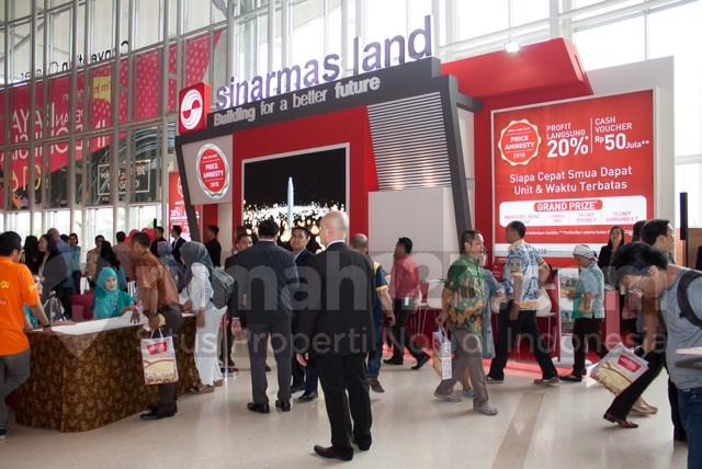 Sinar Mas Land di Pekan Raya Indonesia