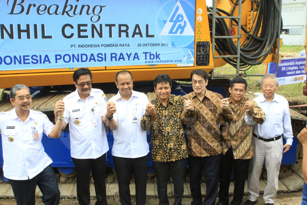 Groundbreaking Benhil Central, Rabu (26/10). Foto: Rumah123/PT Wika Reality
