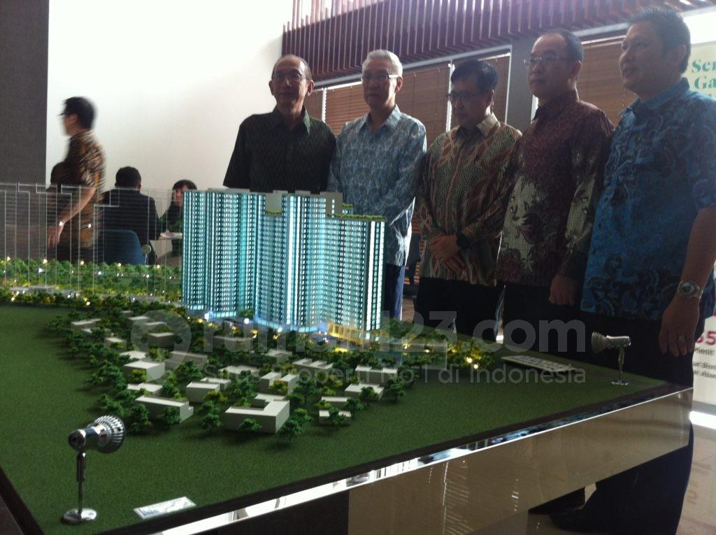 Selain apartemen, Serpong Garden lebih dulu membangun hunian rumah tapak. Harga pasaran untuk rumah ini berkisar Rp600-700 juta. Foto: Rumah123/Ade Miranti
