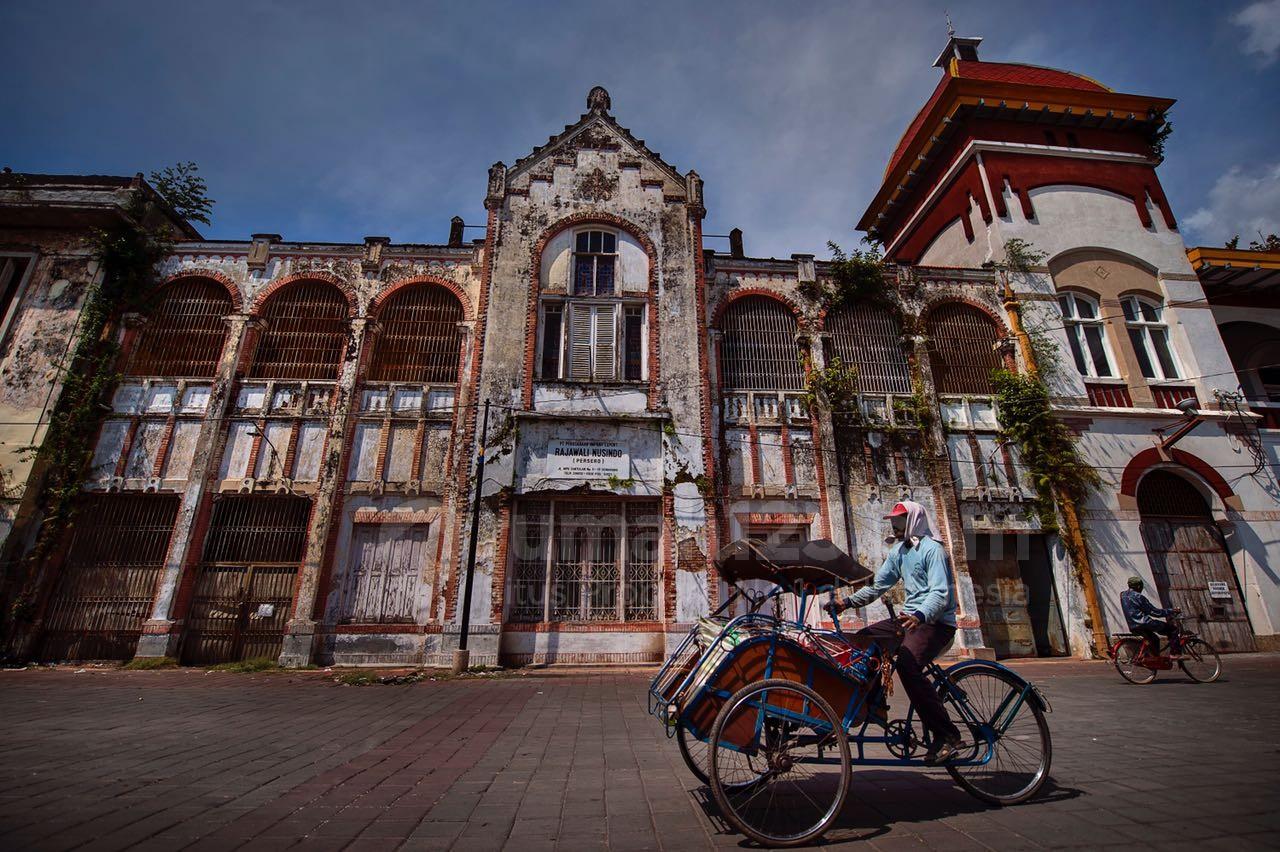 Kawasan Pusaka Kota Lama yang sudah ditata dan dirawat oleh Kementerian PUPR. Foto: Rumah123/Kementerian PUPR