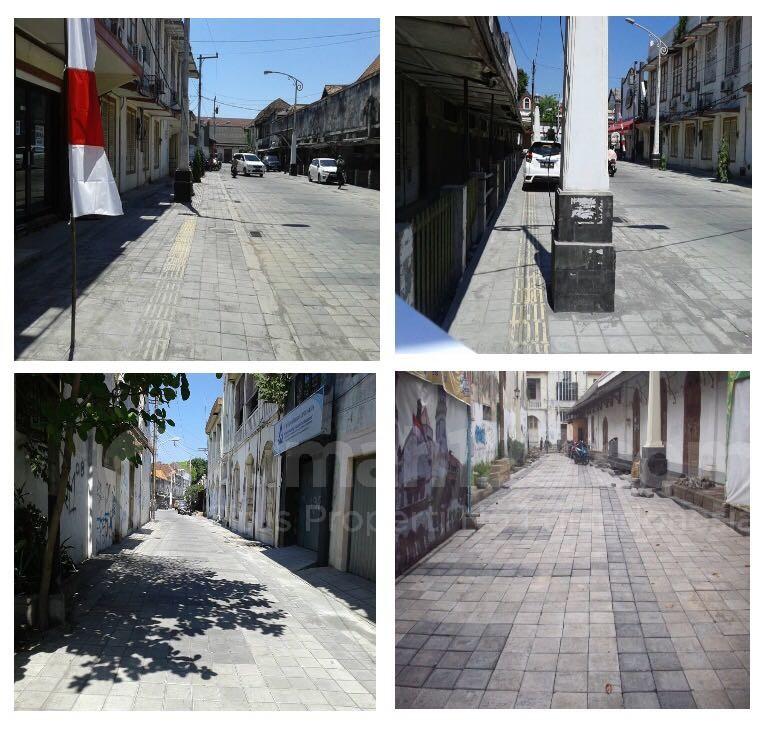 Beberapa ruas Kota Lama Semarang sudah dibenahi. Foto: Rumah123/Kementerian PUPR
