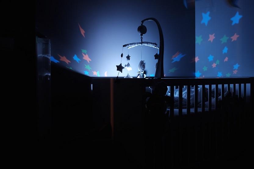 letak lampu bayi