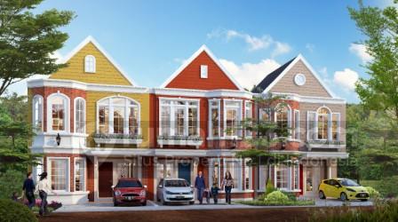 Salah satu klaster milik Paramount Land, Boston Village dipasarkan sebesar Rp981 juta. Foto: Rumah123