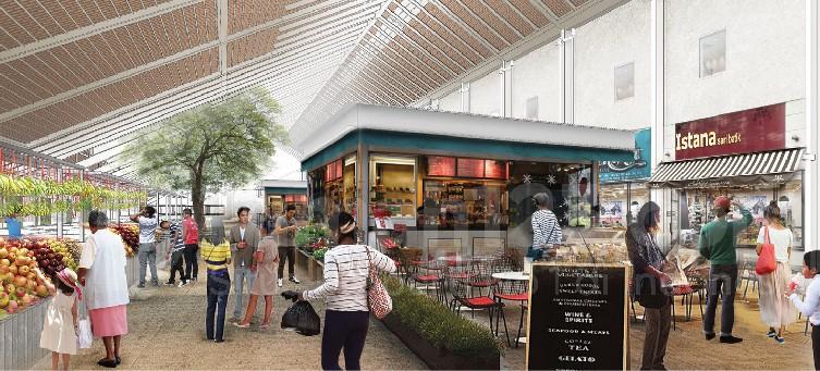 Konsep Pasar Anyar Vida Bekasi. Foto: Rumah123/Vida Bekasi