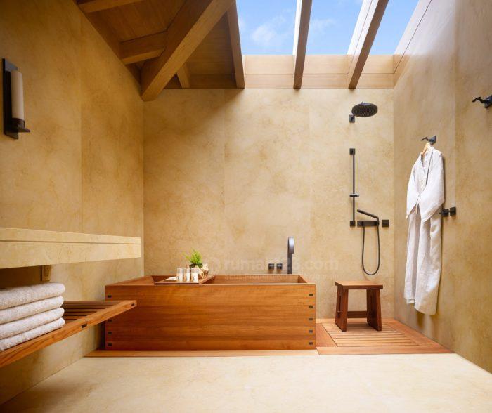 Punya Bathtub Ala Jepang Wah Unik Banget Nih Rumah123 Com
