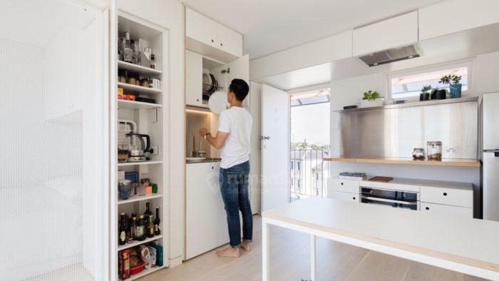 Metode Penyimpanan Ala Jepang Diaplikasikan Untuk Apartemen