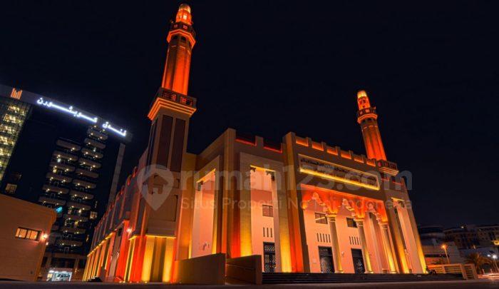 Hmm, Ini Dia Masjid Ramah Lingkungan Pertama di Dunia