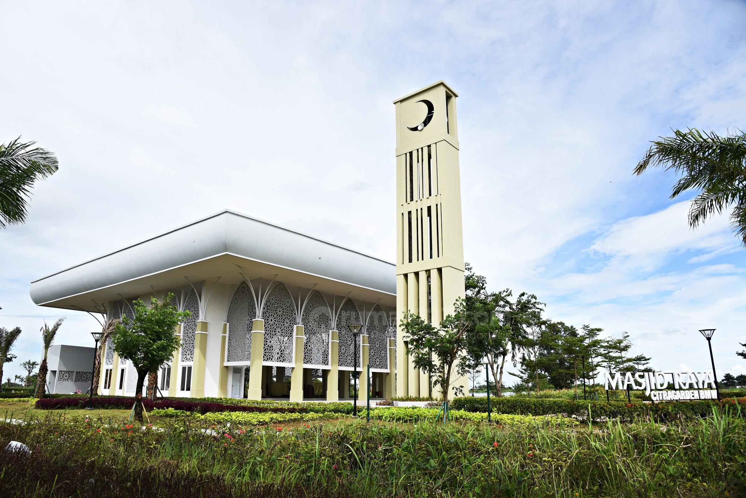 CitraGarden BMW Optimistis Naikan Nilai Investasi dengan Bangun Masjid