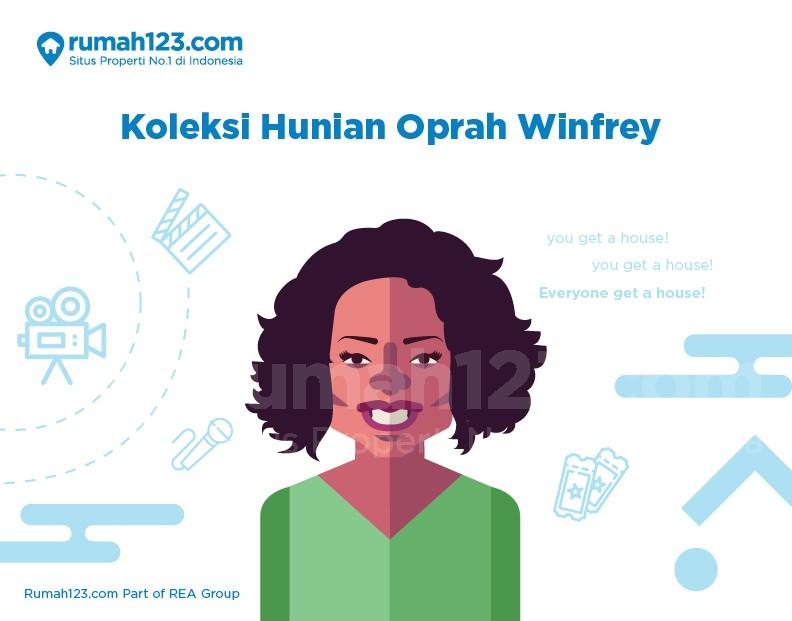 Koleksi Hunian Oprah Winfrey, Intip Yuk!