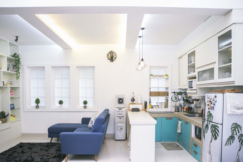Ruang Keluarga Digabung dengan Dapur, Boleh Kok!  Rumah5.com