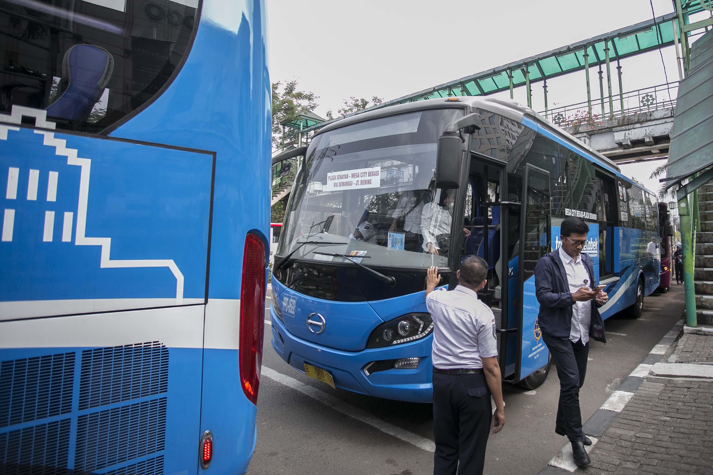 Ada 61 Unit Bus Premium Di Cibubur Siap Layani Kamu Ga