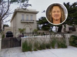 Gitaris Metallica Kirk Hammett Jual Rumah Mewah, Buruan Beli Tuh!