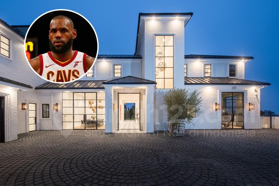 Pebasket LeBron James Beli Rumah Kedua di LA, Kalau Kamu Kapan?