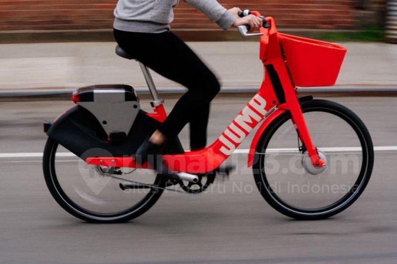 Ini Dia Nih Transportasi Zaman Now, Berbagi Sepeda Ala Uber
