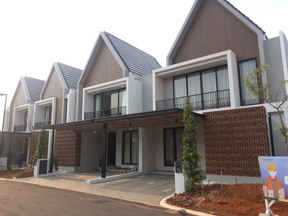 Rumah contoh depan
