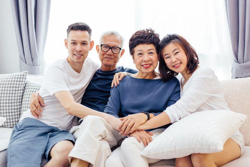 Tinggal dengan orang tua