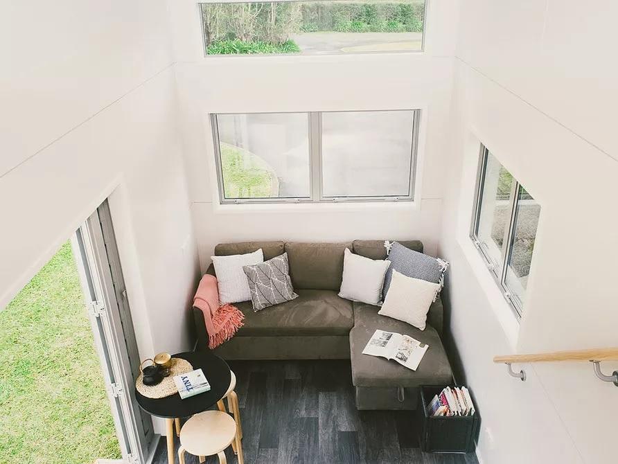 desain rumah ruang tamu luas