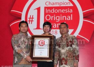 Rumah123 Kembali Meraih Indonesia Original Brand 2018