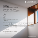Tips Beli Rumah: Kebiasaan yang Harus Dilakukan Biar Bisa Punya Rumah Pada 2019