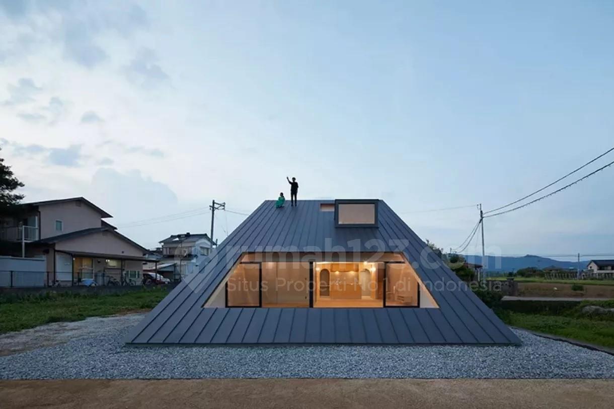 51+ Gambar Rumah Modern Atap Miring Gratis Terbaru