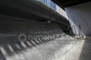 Wah, Bakal Ada Skatepark di Kolong Flyover Slipi