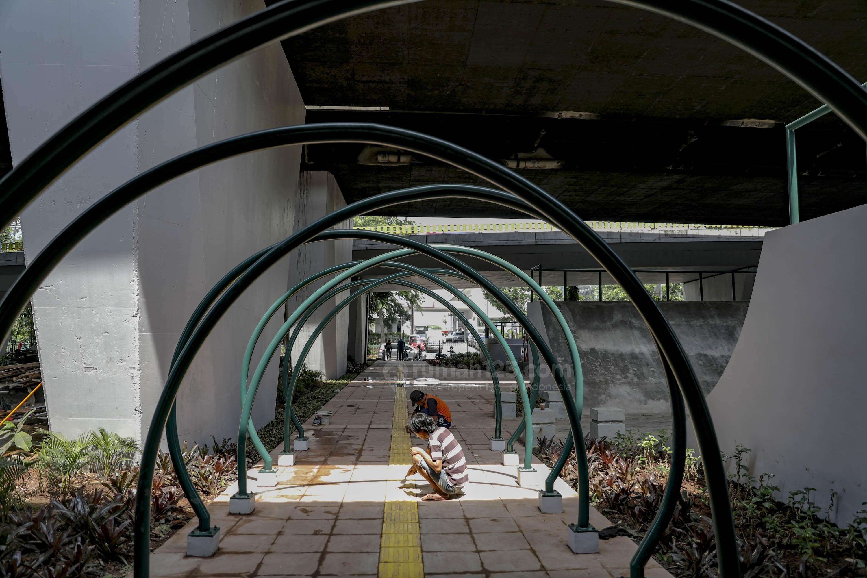 Pemprov DKI Bakal Sulap Kolong Jalan Layang Jadi Ruang Publik, Keren Kan