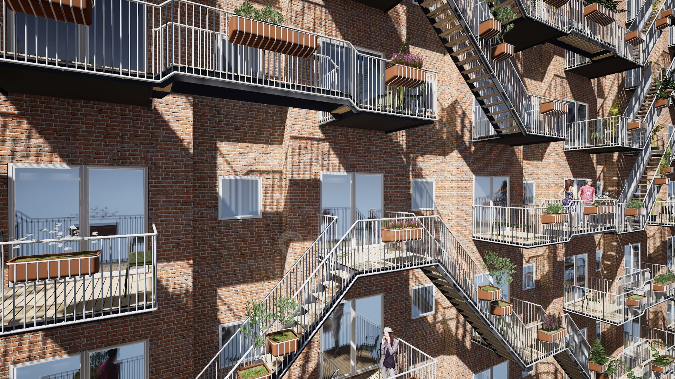 Balkon Tuh Tempat Tempat Bergaul sama Tetangga, Bukan Tempat Jemuran