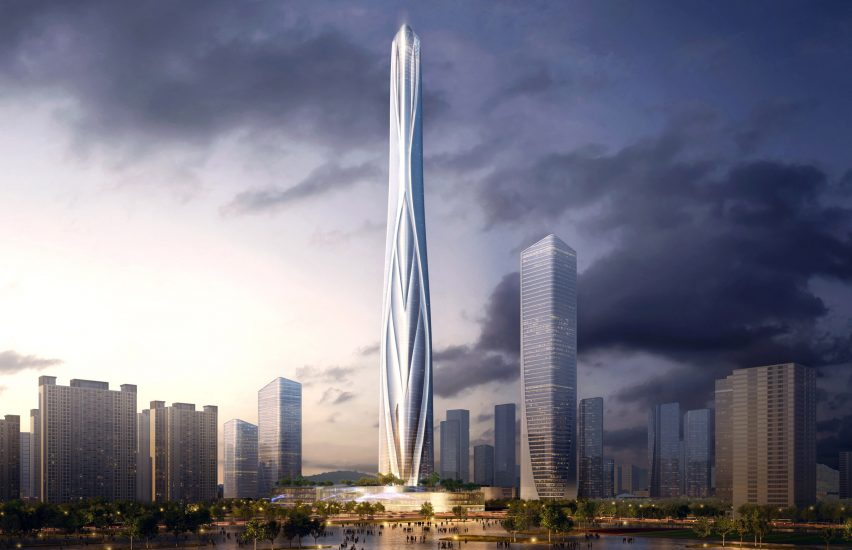 gedung tertinggi di china