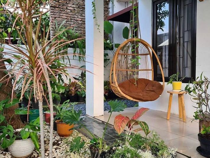 10 Inspirasi Taman Kecil Depan Rumah Untuk Lahan Terbatas Rumah123 Com