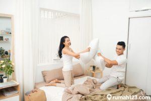 15 Desain Kamar Tidur Romantis, Dijamin Bikin Pasangan Makin Lengket!