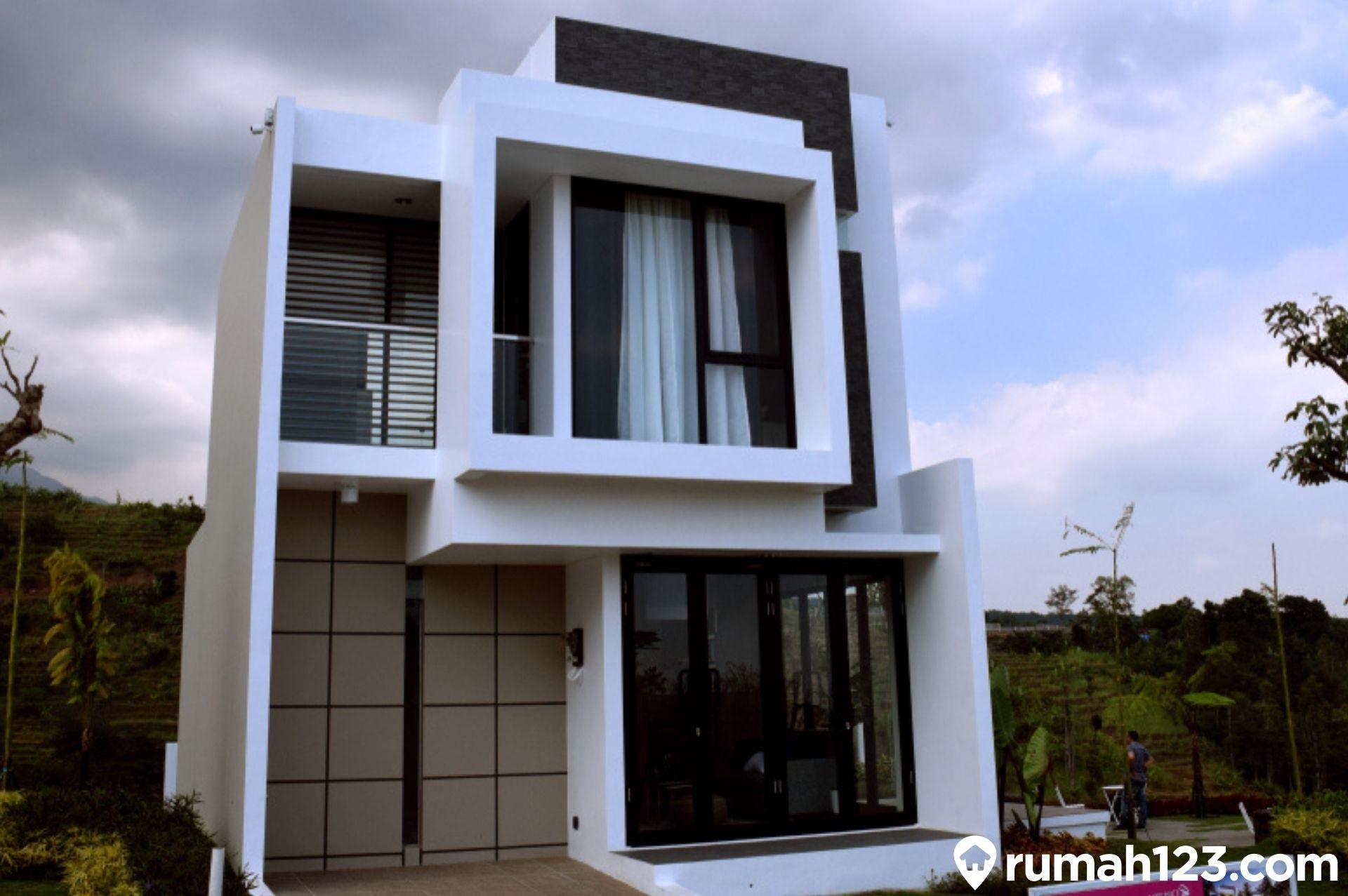 10 Compact House Indonesia Desain Rumah Di Lahan Sempit Buat Si Bujet Terbatas Rumah123 Com