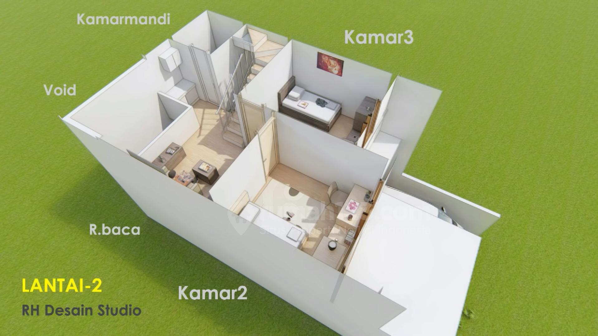 Siapa Bilang Tipe Rumah 36 Gak Bisa Dibuat 2 Tingkat Ini Buktinya Rumah123 Com