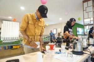 Peduli Pelaku Bisnis UMKM, Cimanggis City Sajikan Coffee Story